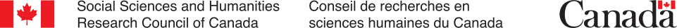 The Social Sciences and Humanities Research Council of Canada